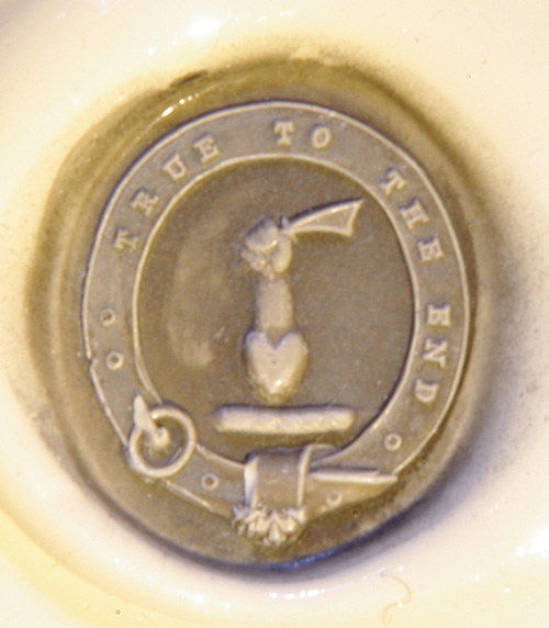 Orr family seal, hand carved, and passed down for a signet ring.
