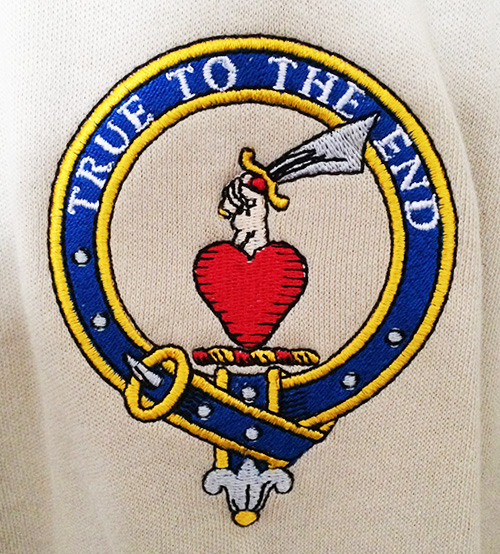 Orr Family Crest - Shirt Embroidery
