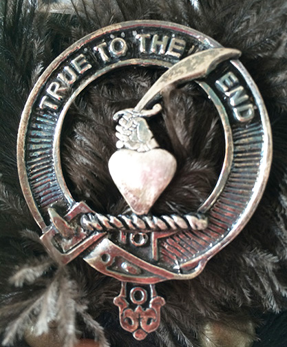 Orr Clan Badge Casting for Scottish Bonnet
