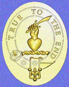 Orr Family Crest - Re Rendered as a Signet Ring