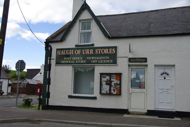 Haugh of Urr – Post Office