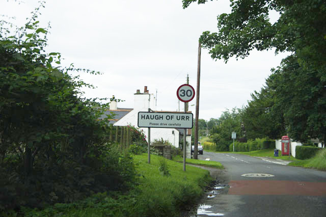 Haugh of Urr – Village Sign