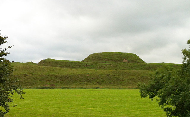 Motte of Urr – Side View