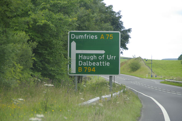 Road to Haugh of Urr