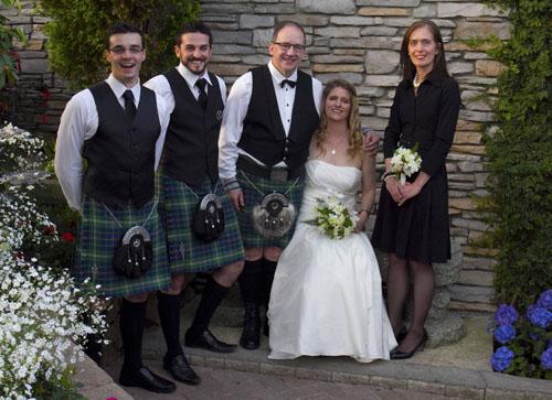 Neill & Cheryl – Wedding Party