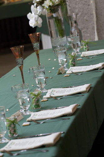 Head Table – Setting
